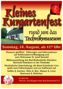 Kleines Kurgartenfest