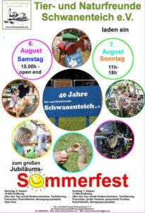 Sommerfest Schwanenteich
