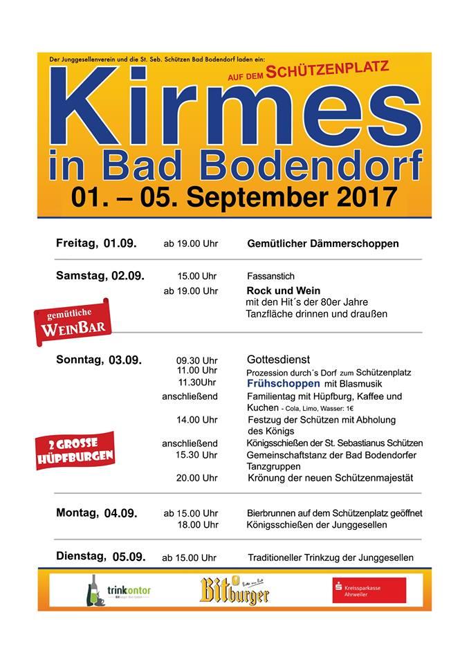 Kirmes in Bad Bodendorf @ Kirmesplatz | Sinzig | Rheinland-Pfalz | Deutschland