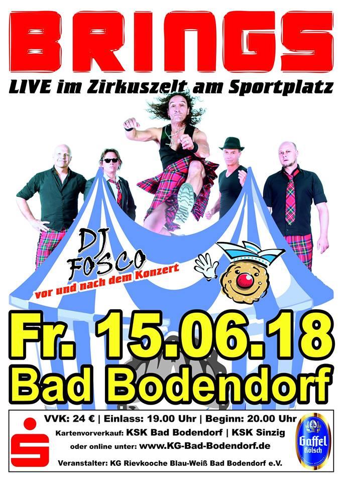 BRINGS LIVE @ Sportplatz   Sinzig   Rheinland-Pfalz   Deutschland