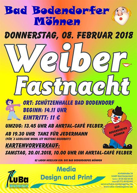 Bodendorfer Möhnesitzung @ Schützenhalle | Sinzig | Rheinland-Pfalz | Deutschland