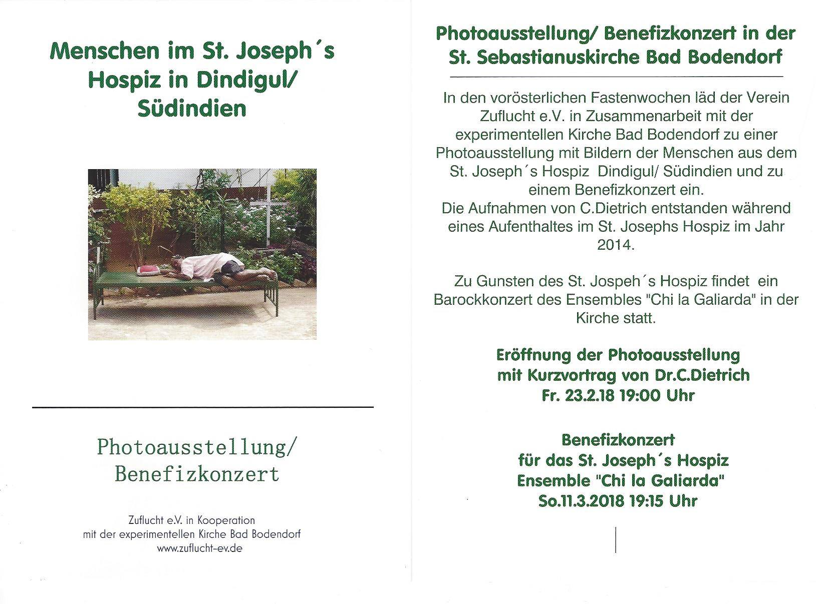 Photoausstellung Menschen im St. Joseph Hospiz @ Kirche St. Sebastianus | Sinzig | Rheinland-Pfalz | Deutschland
