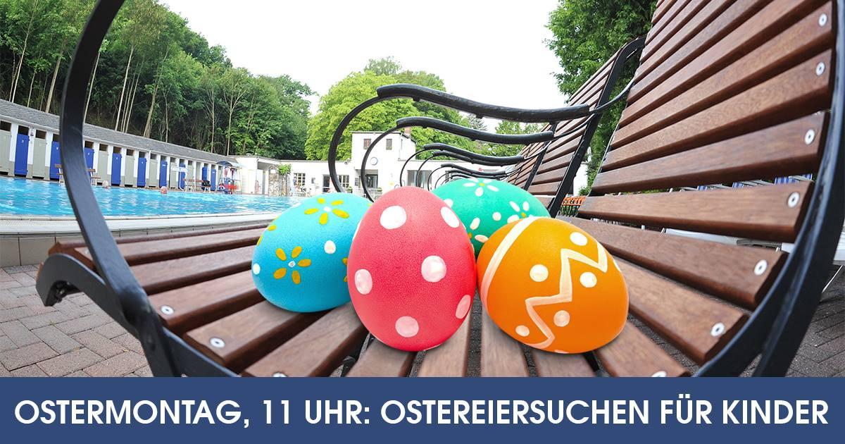 Ostereiersuchen für Kinder @ Thermalfreibad    Sinzig   Rheinland-Pfalz   Deutschland
