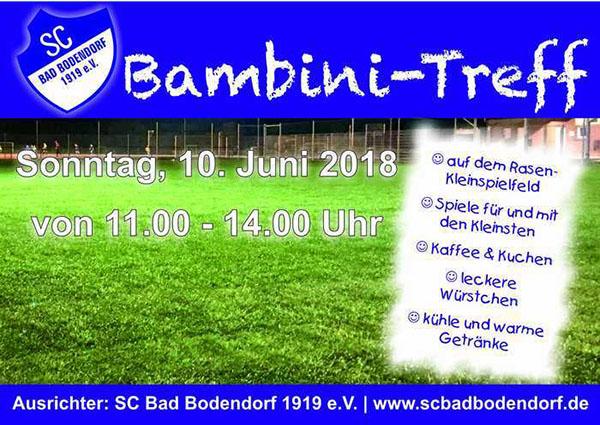 Bambini-Treff beim SC Bad Bodendorf @ Sportplatz   Sinzig   Rheinland-Pfalz   Deutschland